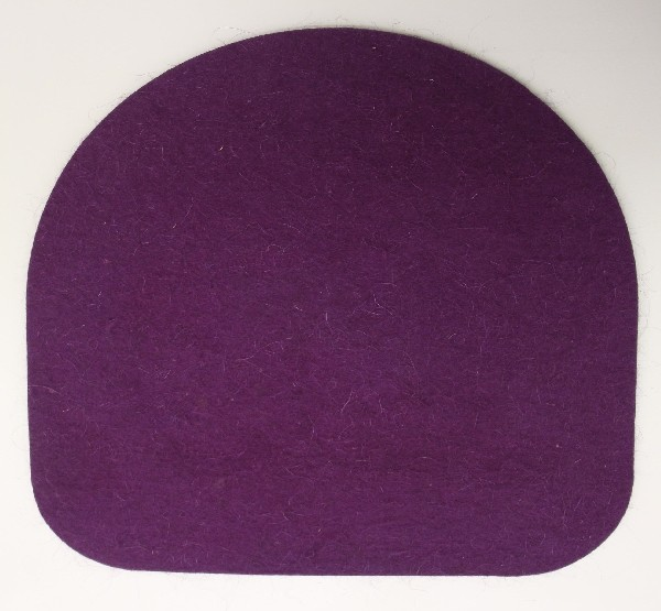 Подушка из войлока для стула Kettler Chair ФиолетовыйАксессуары<br><br>Цвет: Фиолетовый; Бренд: Kettler; Ширина (см): 35; Глубина (см): 35;