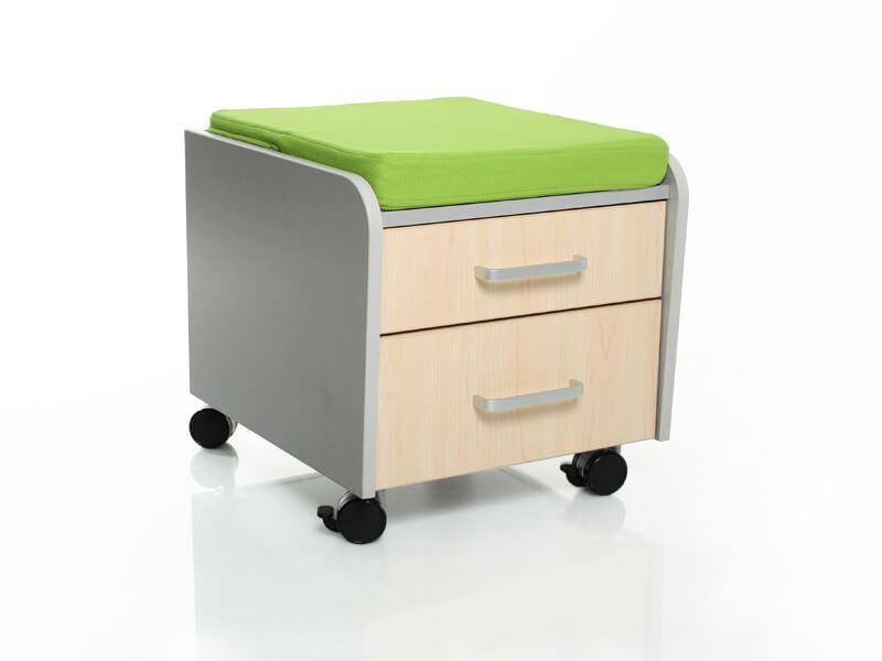 Тумбочка Comf-Pro BD-C2 с подушкой Клен Зеленый