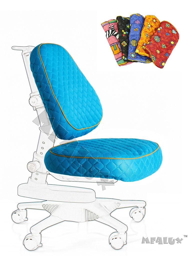 Чехол для кресла Newton Y-818 / Match Y-518 ГолубойАксессуары<br><br>Цвет обивки кресла: Голубой; Бренд: Comf-Pro;