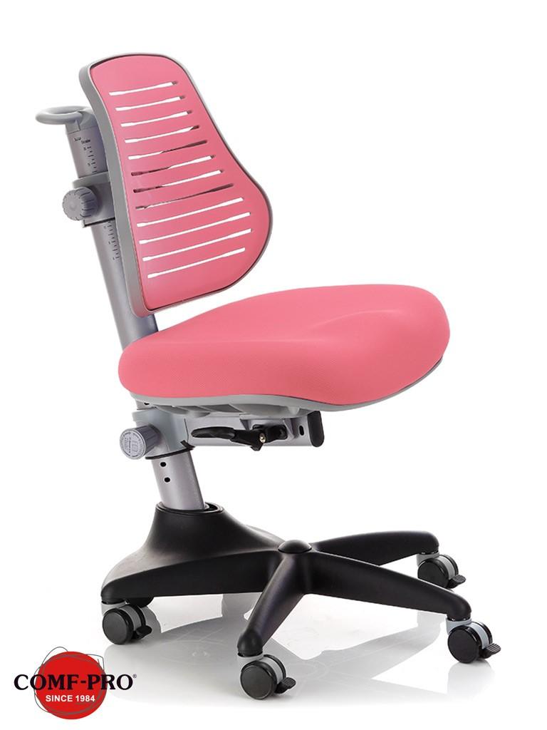 Детское кресло Comf-Pro C3-317 Conan New РозовыйКресла Comf-Pro<br><br>Цвет: Розовый; Бренд: Comf-Pro; Ширина (см): 60; Глубина (см): 60; Высота (см): 79-96;