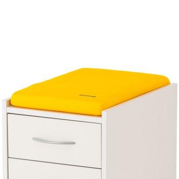 Подушка для тумб Kettler ЖелтыйАксессуары<br><br>Цвет: Желтый; Бренд: Kettler; Ширина (см): 36; Глубина (см): 55; Высота (см): 6;
