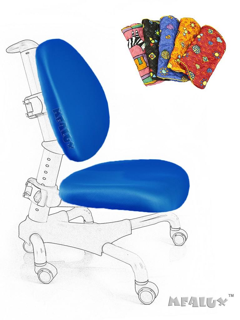 Чехол для кресла Nobel Y-517 / Champion Y-718 СинийАксессуары<br><br>Цвет обивки кресла: Синий; Бренд: Mealux;