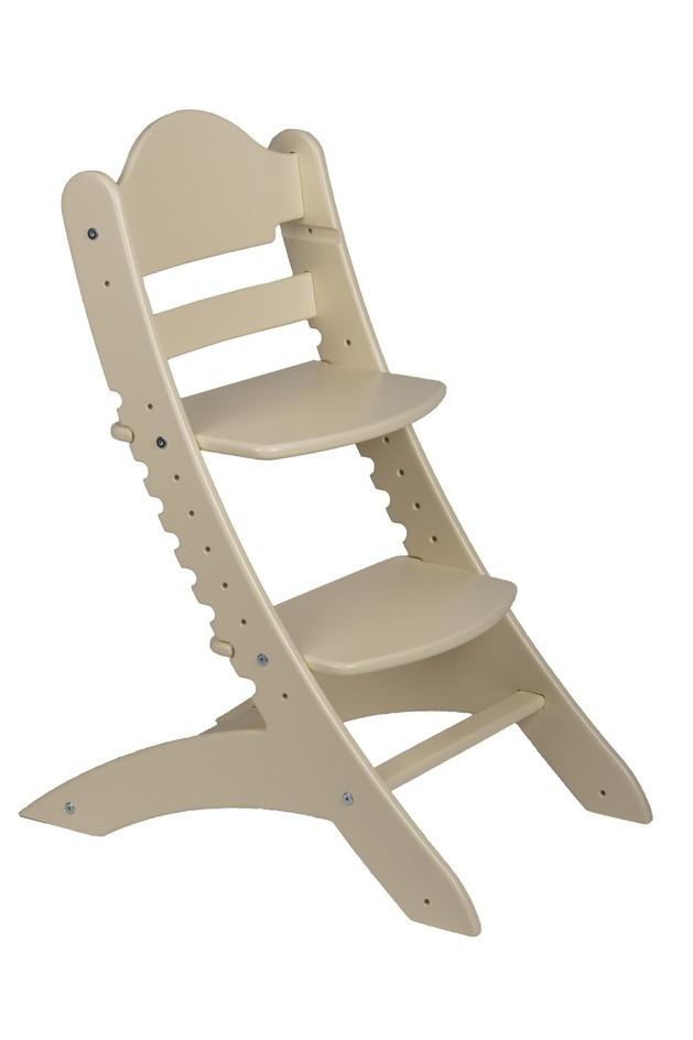 Детский растущий стул «Два кота» М1 Бежевый