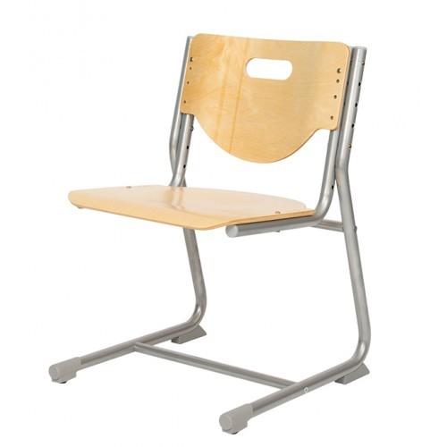 Стул-трансформер Астек SF-3 Береза СерыйСтулья и кресла<br><br>Цвет материала: Береза; Цвет каркаса: Серый; Бренд: Астек; Ширина (см): 41; Глубина (см): 39;
