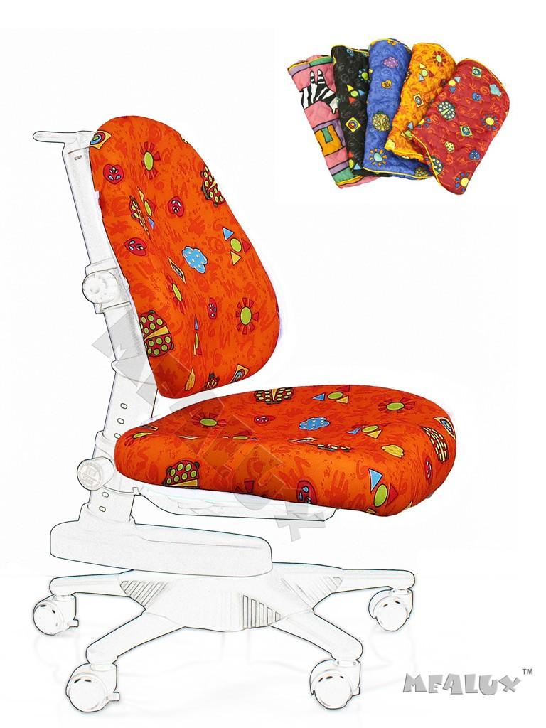 Чехол для кресла Newton Y-818 / Match Y-518 Оранжевый с жучкамиАксессуары<br><br>Цвет обивки кресла: Оранжевый с жучками; Бренд: Comf-Pro;