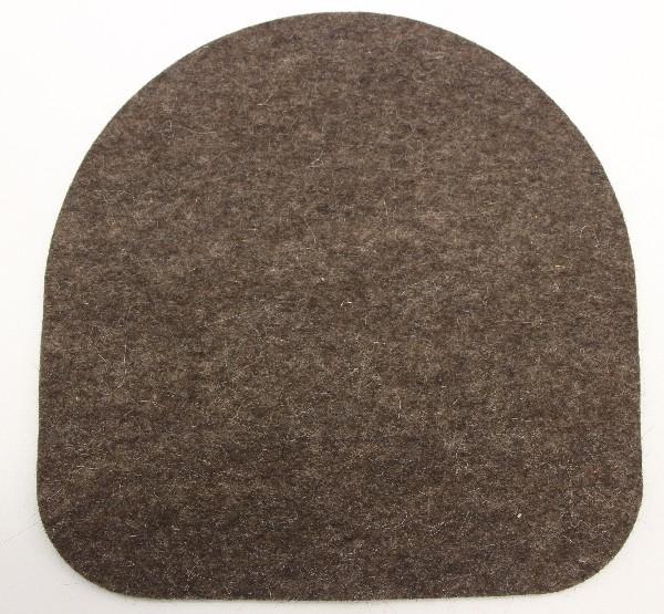 Подушка из войлока для стула Kettler Chair КоричневыйАксессуары<br><br>Цвет: Коричневый; Бренд: Kettler; Ширина (см): 35; Глубина (см): 35;