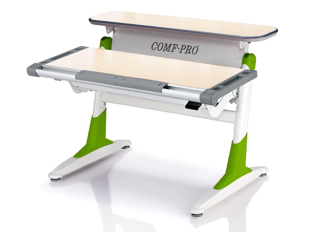 Стол Comf-Pro TH333 Coho (Кохо) Дуб беленый Светло-зеленыйПарты и столы<br><br>Цвет материала: Дуб беленый; Цвет каркаса: Белый; Цвет: Светло-зеленый; Бренд: Comf-Pro; Ширина (см): 106; Глубина (см): 73; Высота (см): 53-80;