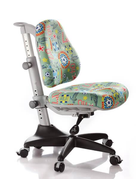 Детское кресло Comf-Pro Y-518 Match (Матч) Зеленый с мячикамиСтулья и кресла<br><br>Цвет обивки кресла: Зеленый с мячиками; Бренд: Comf-Pro; Ширина (см): 60; Глубина (см): 60;