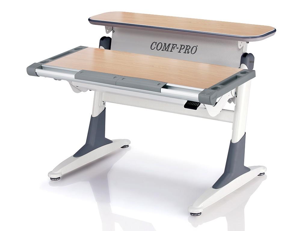 Стол Comf-Pro TH333 Coho (Кохо) Клен СерыйПарты и столы<br><br>Цвет материала: Клен; Цвет каркаса: Белый; Цвет: Серый; Бренд: Comf-Pro; Ширина (см): 106; Глубина (см): 73; Высота (см): 53-80;