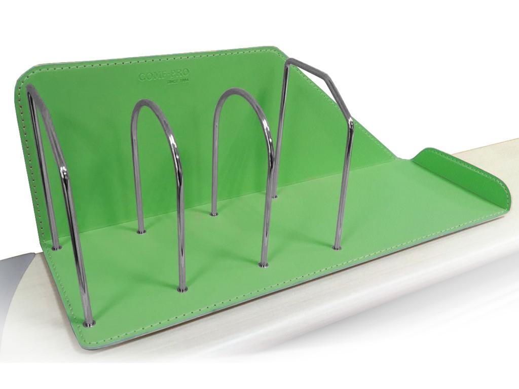 Подставка для книг Comf-Pro KS-06 ЗеленыйАксессуары<br><br>Цвет: Зеленый; Бренд: Comf-Pro; Ширина (см): 51,5; Глубина (см): 18,5; Высота (см): 18,7;