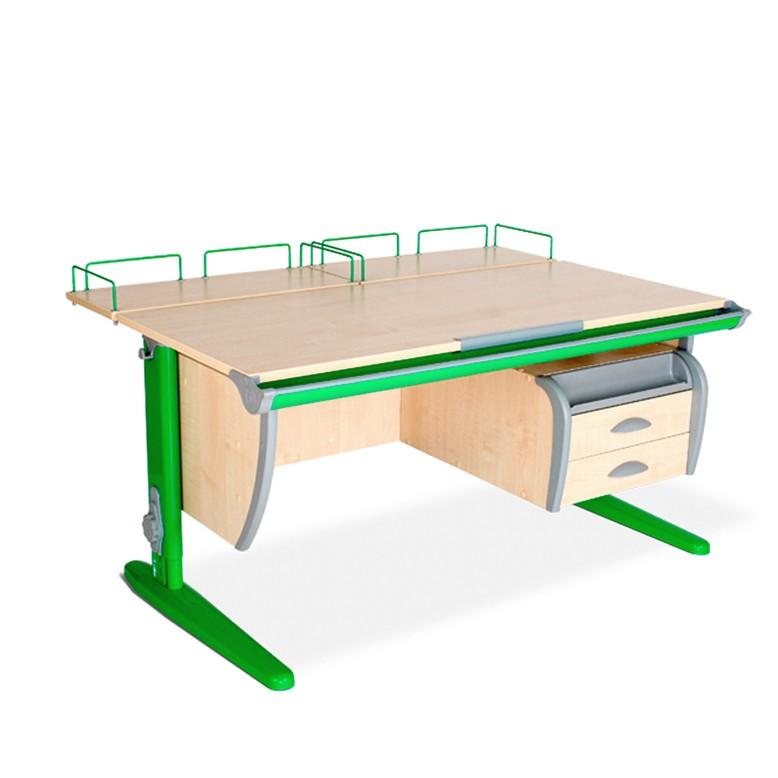 Парта Дэми СУТ-15-04 Клен ЗеленыйПарты и столы<br><br>Цвет материала: Клен; Цвет каркаса: Зеленый; Бренд: Дэми; Ширина (см): 120; Глубина (см): 80; Высота (см): 53-81,5;