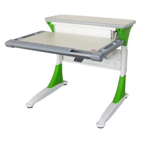 Стол Comf-Pro M1 Mini Harvard Дуб беленый Белый ЗеленыйПарты и столы<br><br>Цвет материала: Дуб беленый; Цвет каркаса: Белый; Цвет: Зеленый; Бренд: Comf-Pro; Ширина (см): 83; Глубина (см): 83; Высота (см): 46-92;