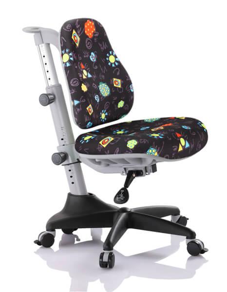 Детское кресло Comf-Pro Y-518 Match (Матч) Черный с жучкамиСтулья и кресла<br><br>Цвет обивки кресла: Черный с жучками; Бренд: Comf-Pro; Ширина (см): 60; Глубина (см): 60;
