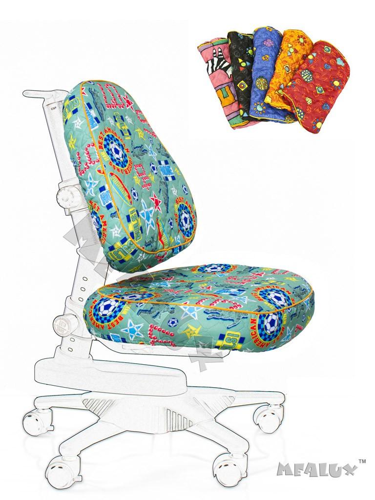 Чехол для кресла Newton Y-818 / Match Y-518 Зеленый с мячикамиАксессуары<br><br>Цвет обивки кресла: Зеленый с мячиками; Бренд: Comf-Pro;
