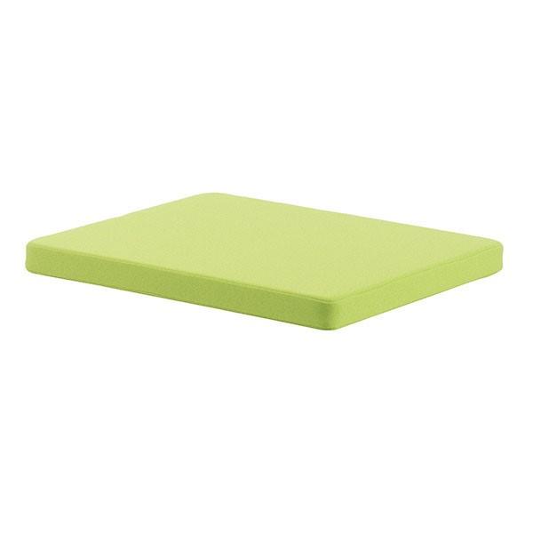 Подушка Pad 15 на тумбу Moll Pro/Cubic ЗеленыйАксессуары Moll<br><br>Цвет обивки: Зеленый; Бренд: Moll; Ширина (см): 43; Глубина (см): 54; Высота (см): 4;
