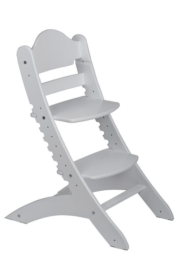 Детский растущий стул «Два кота» М1 Белый