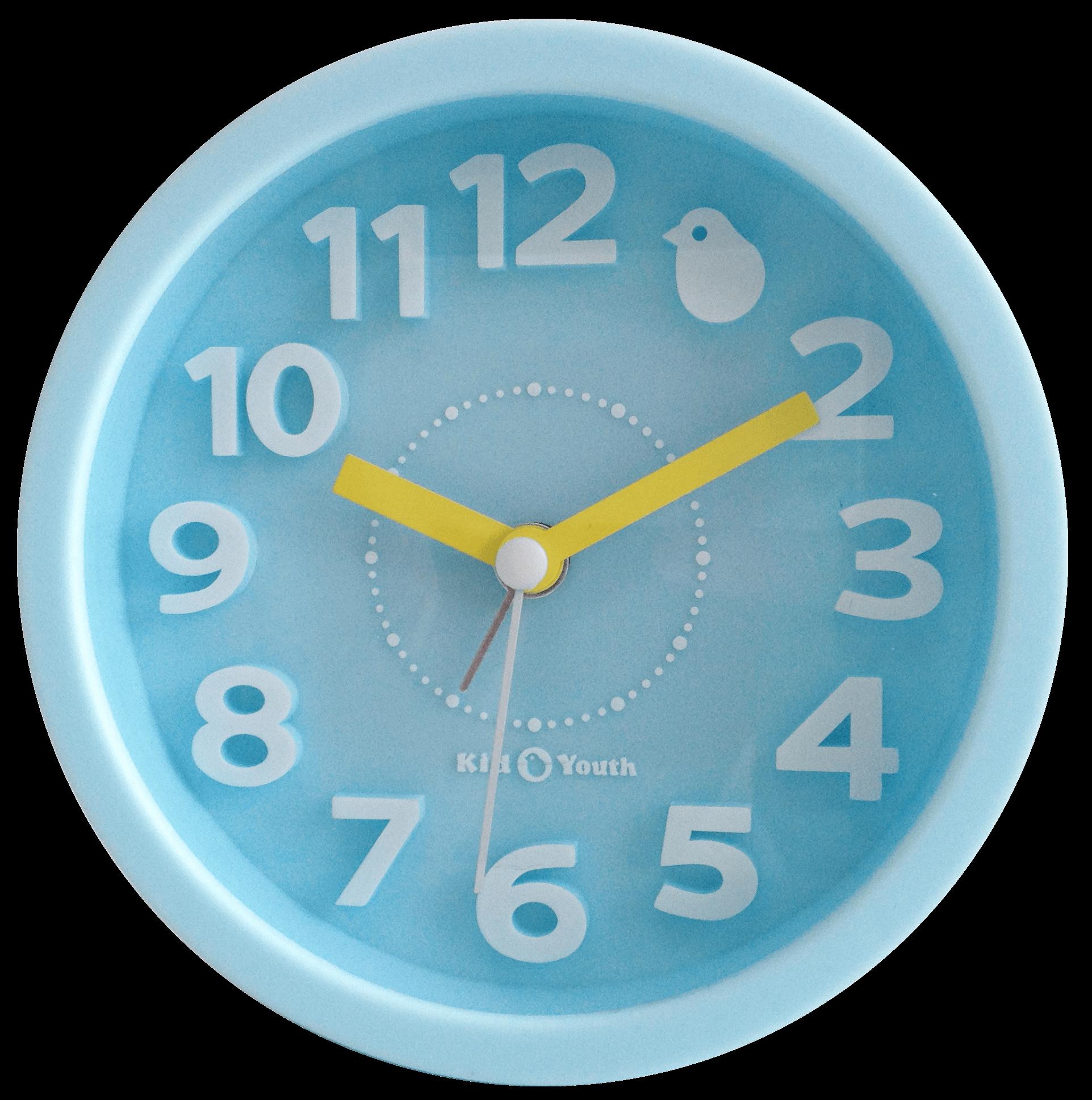 Часы-будильник TCT Nanotec ГолубойАксессуары<br><br>Цвет: Голубой; Бренд: TCT Nanotec; Ширина (см): 12; Глубина (см): 2,5; Высота (см): 12;