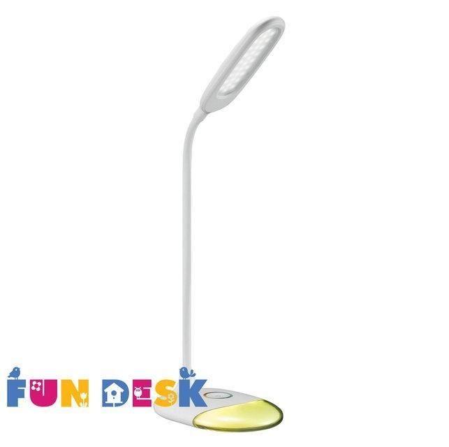 Настольная светодиодная лампа FunDesk L4Светильники<br><br>Бренд: FunDesk; Ширина (см): 11,5; Высота (см): 53;
