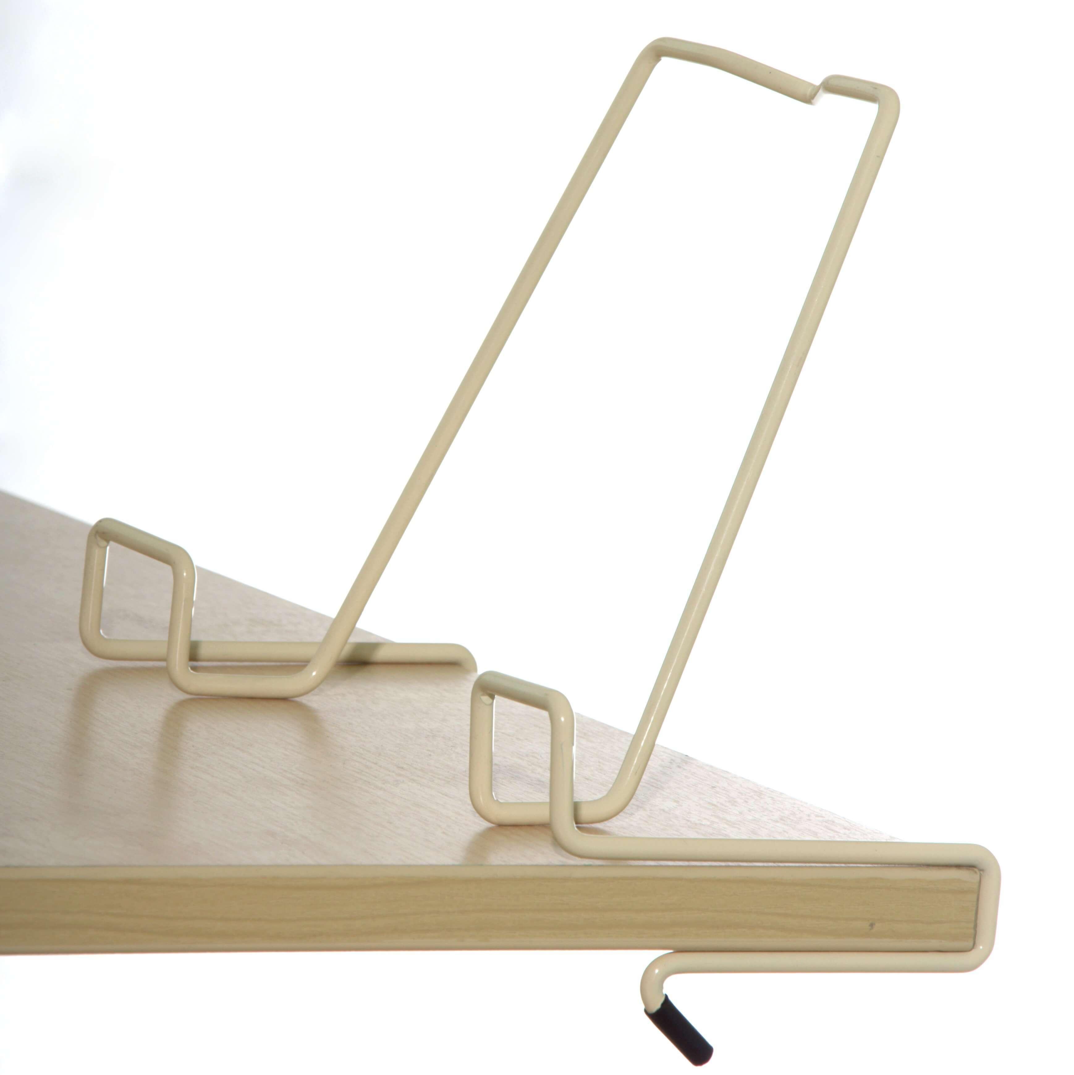 Подставка для книг для наклонных столешниц Дэми ПК-01 БежевыйАксессуары<br><br>Цвет: Бежевый; Бренд: Дэми; Ширина (см): 33; Глубина (см): 5; Высота (см): 20;