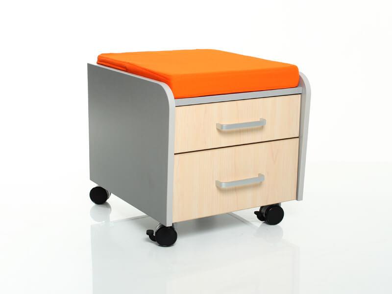 Тумбочка Comf-Pro BD-C2 с подушкой Клен Оранжевый