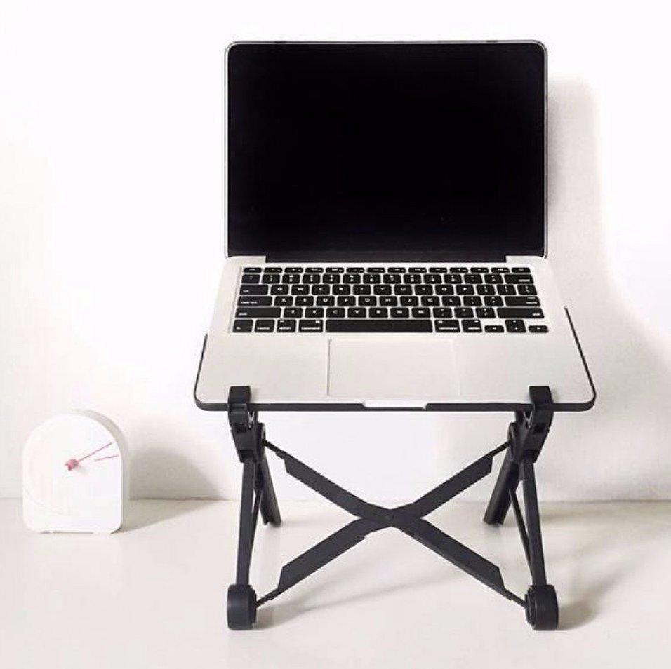 Складная подставка для ноутбука NexstandПарты и столы<br><br>Бренд: SmartStool; Ширина (см): 35,4; Глубина (см): 4; Высота (см): 4;
