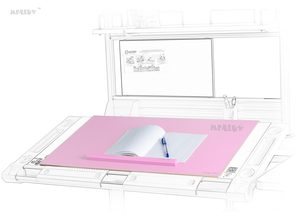 Настольное покрытие Comf-Pro PAD-01 РозовыйАксессуары<br><br>Цвет: Розовый; Бренд: Comf-Pro; Ширина (см): 71; Глубина (см): 41;