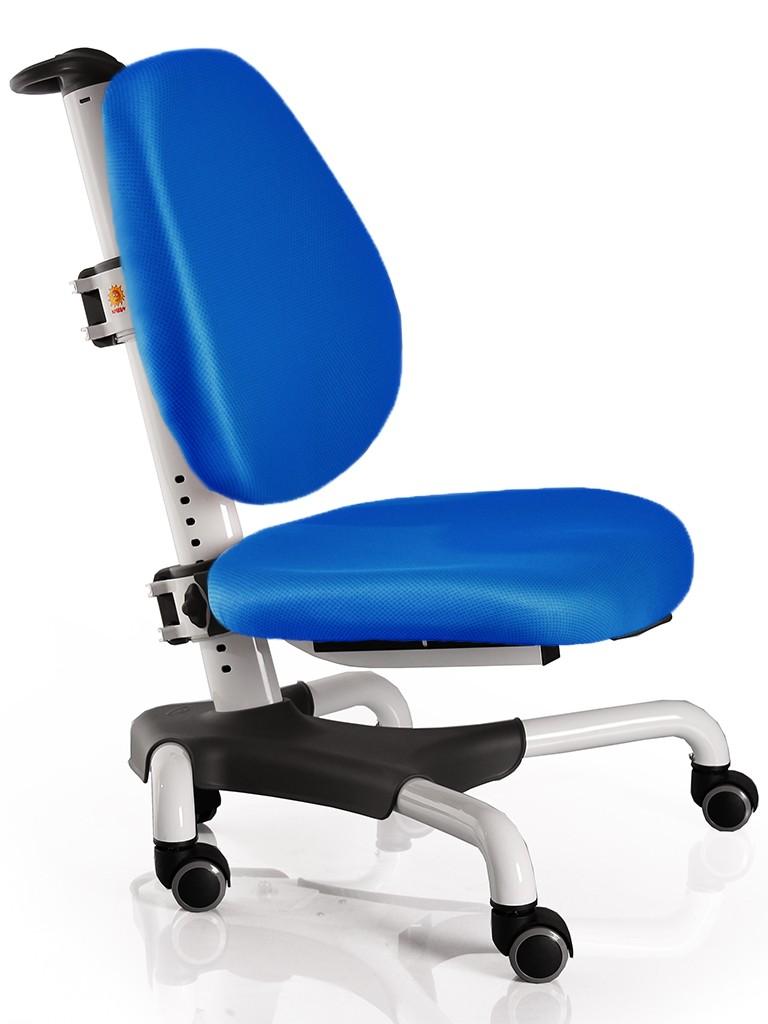 Детское кресло Mealux Y-517 Nobel Синий БелыйСтулья и кресла<br><br>Цвет обивки кресла: Синий; Цвет каркаса: Белый; Бренд: Mealux; Ширина (см): 53; Глубина (см): 58; Высота (см): 77;