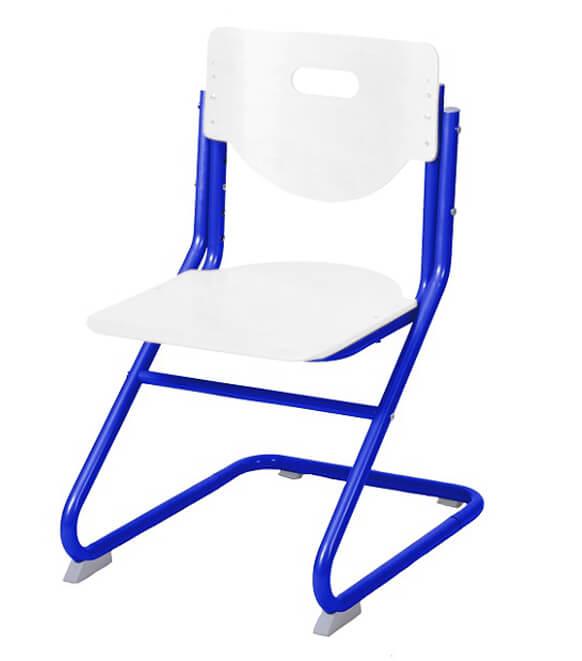 Стул-трансформер Астек SK-2 Белый СинийСтулья и кресла<br><br>Цвет материала: Белый; Цвет каркаса: Синий; Бренд: Астек; Ширина (см): 41; Глубина (см): 39; Высота (см): 67;