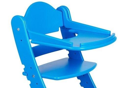 """Столик для детского растущего стула """"Два Кота"""" Синий"""