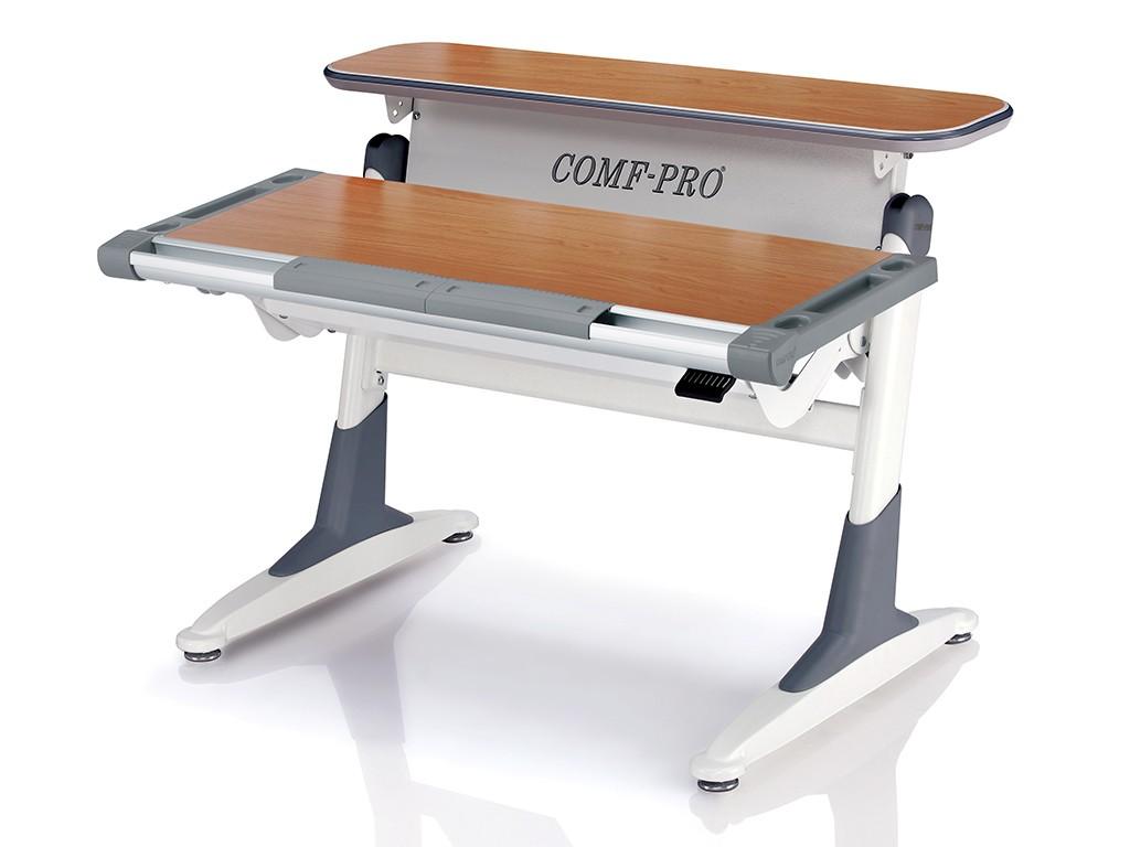 Стол Comf-Pro TH333 Coho (Кохо) Бук СерыйПарты и столы<br><br>Цвет материала: Бук; Цвет каркаса: Белый; Цвет: Серый; Бренд: Comf-Pro; Ширина (см): 106; Глубина (см): 76; Высота (см): 54-75;