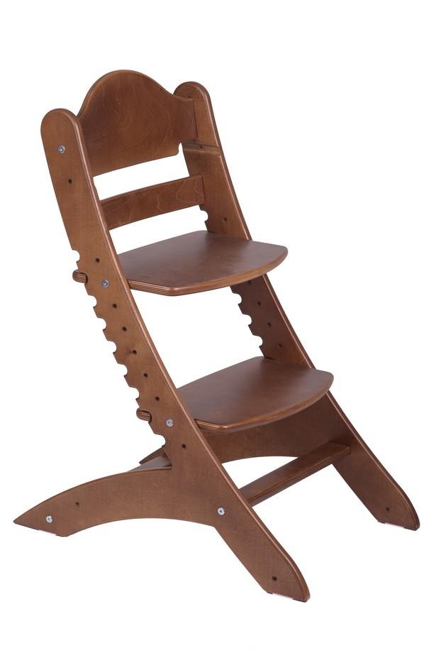 Детский растущий стул «Два кота» М1 Старинный орех