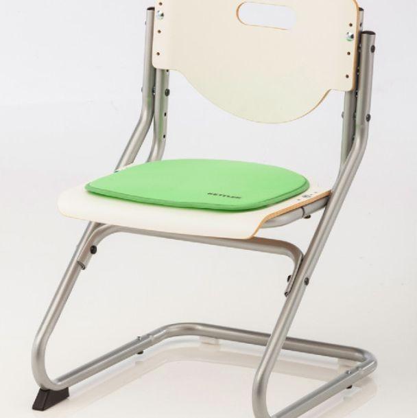 Подушка на липучках для стула Kettler Chair Светло-зеленыйАксессуары<br><br>Цвет: Светло-зеленый; Бренд: Kettler; Ширина (см): 34; Глубина (см): 34;