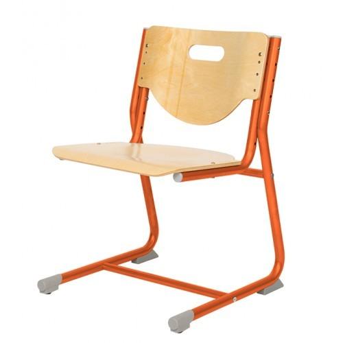 Стул-трансформер Астек SF-3 Береза ОранжевыйСтулья и кресла<br><br>Цвет материала: Береза; Цвет каркаса: Оранжевый; Бренд: Астек; Ширина (см): 41; Глубина (см): 39;