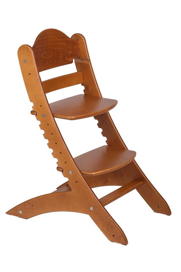 Детский растущий стул «Два кота» М1 Темный клен