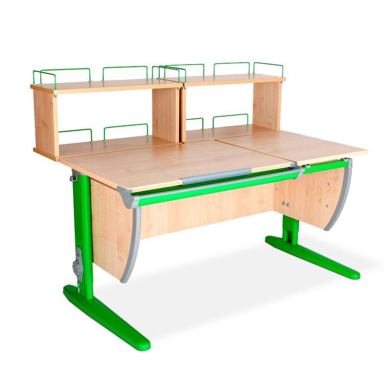 Парта Дэми СУТ-17-01Д2 Клен ЗеленыйПарты и столы<br><br>Цвет материала: Клен; Цвет каркаса: Зеленый; Бренд: Дэми; Ширина (см): 120; Глубина (см): 80; Высота (см): 53-81,5;
