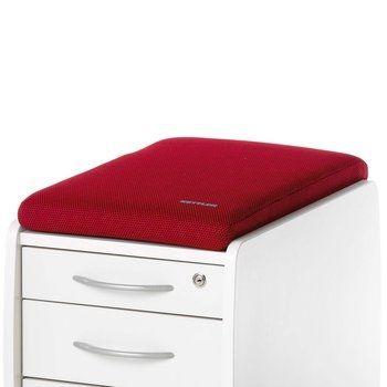 Подушка для тумб Kettler КрасныйАксессуары<br><br>Цвет: Красный; Бренд: Kettler; Ширина (см): 36; Глубина (см): 55; Высота (см): 6;