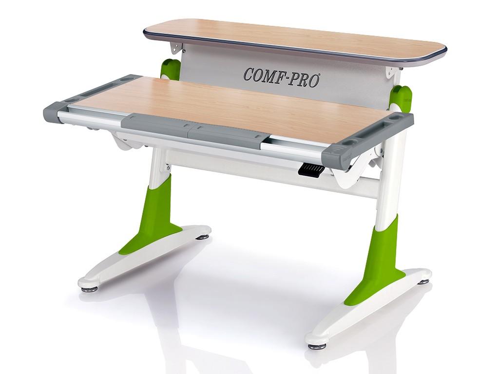 Стол Comf-Pro TH333 Coho (Кохо) Клен Светло-зеленыйПарты и столы<br><br>Цвет материала: Клен; Цвет каркаса: Белый; Цвет: Светло-зеленый; Бренд: Comf-Pro; Ширина (см): 106; Глубина (см): 73; Высота (см): 53-80;