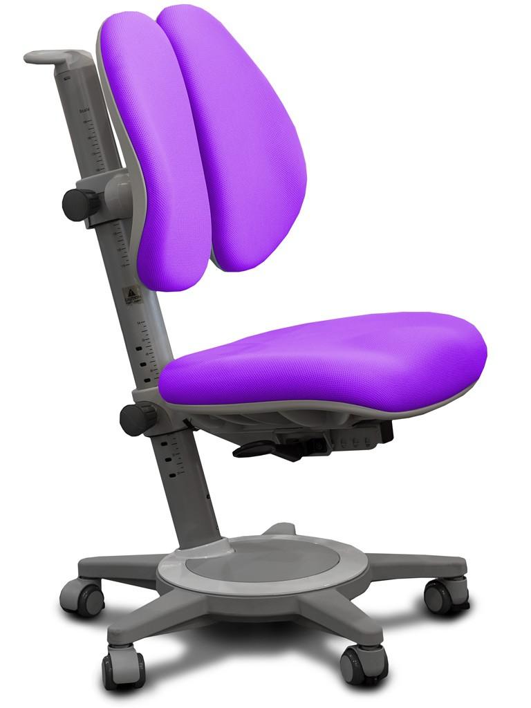 Детское кресло Mealux Y-415 Cambridge Duo Фиолетовый СерыйСтулья и кресла<br><br>Цвет обивки кресла: Фиолетовый; Цвет каркаса: Серый; Бренд: Mealux;