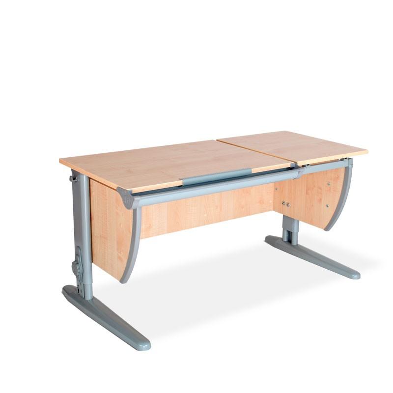 Парта Дэми СУТ-17 Клен СерыйПарты и столы<br><br>Цвет материала: Клен; Цвет каркаса: Серый; Бренд: Дэми; Ширина (см): 120; Глубина (см): 55; Высота (см): 53-81,5;