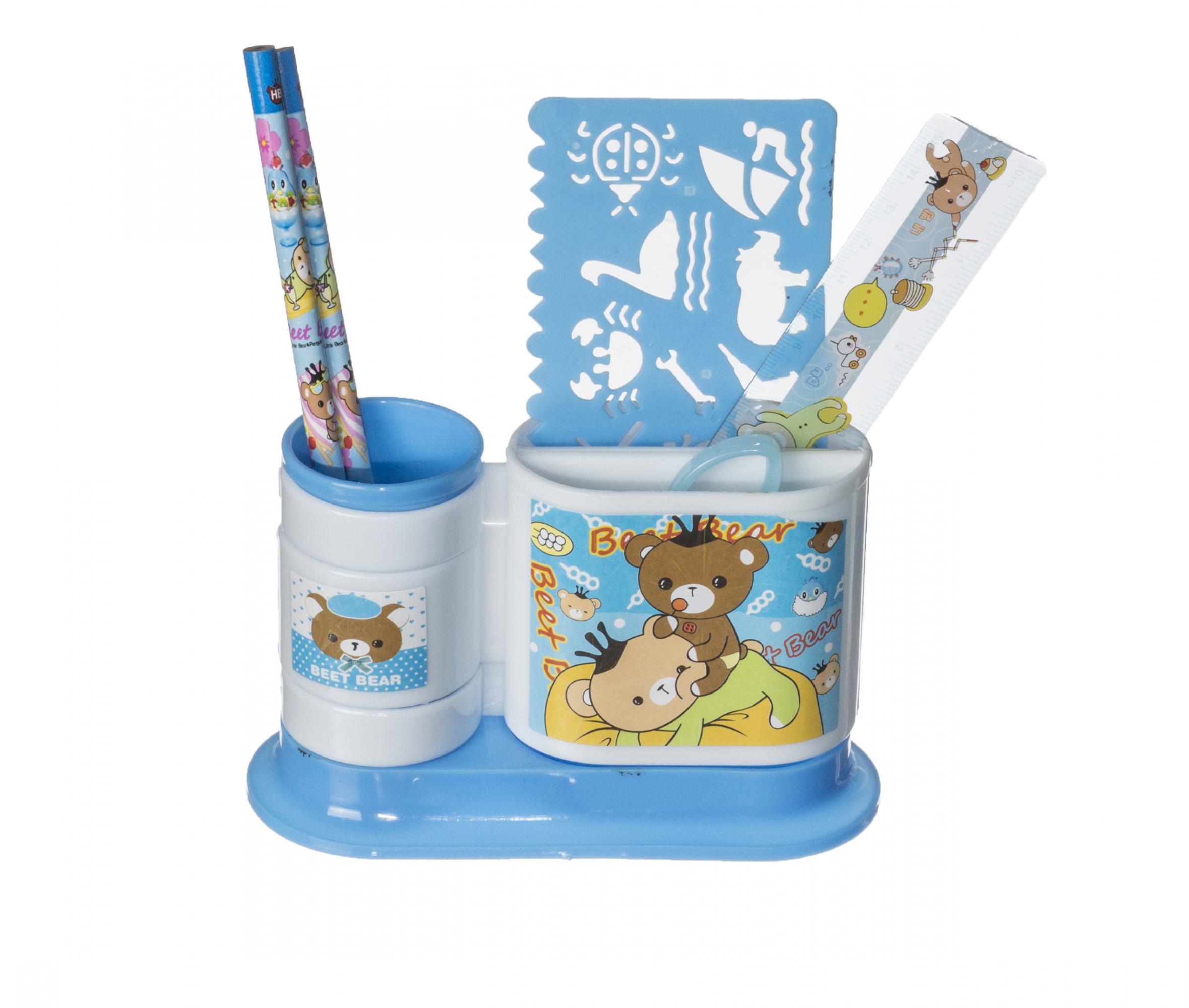 Набор канцтоваров подарочный EVO ГолубойАксессуары<br><br>Цвет: Голубой; Бренд: Mealux;
