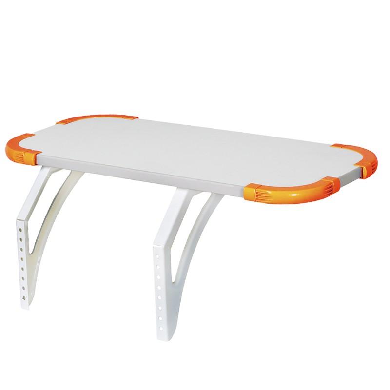 Полка Дэми Techno для парт СУТ-26/31, 55 см (СУТ 26.230)Белый Оранжевый