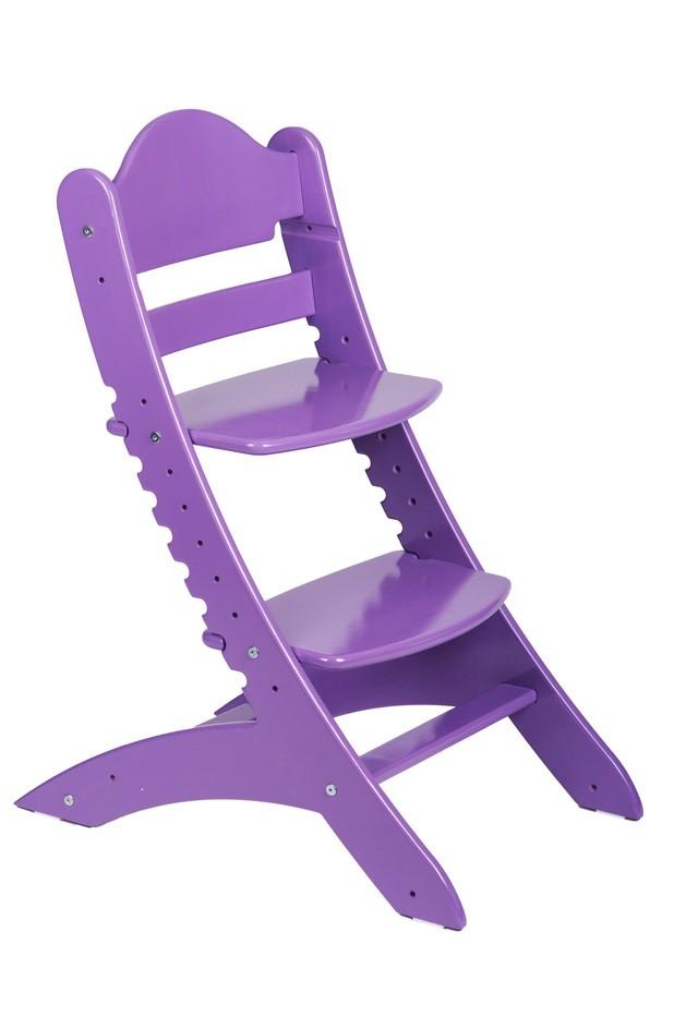Детский растущий стул «Два кота» М1 Сиреневый