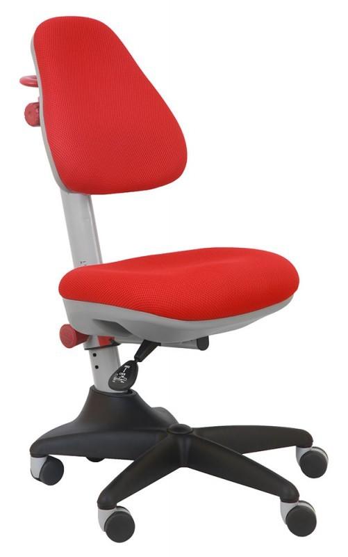 Растущее детское кресло Бюрократ KD-2 КрасныйСтулья и кресла<br><br>Цвет обивки кресла: Красный; Бренд: Бюрократ; Ширина (см): 60; Глубина (см): 58; Высота (см): 81-91;