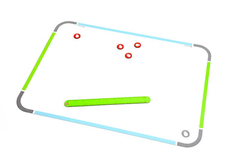Купить Магнитная накладка на парту (доска для рисования) TCT Nanotec в интернет магазине. Цены, характеристики, фото, отзывы, обзоры