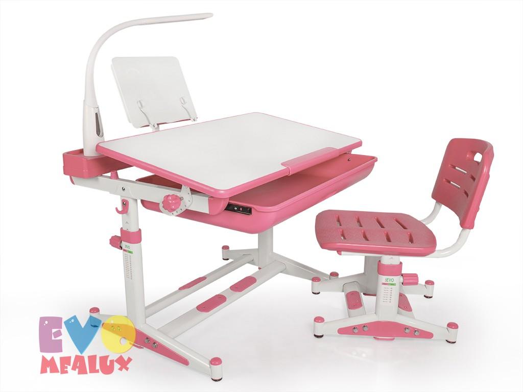 Купить Комплект парта и стул Mealux EVO-04 New XL с лампой в интернет магазине. Цены, характеристики, фото, отзывы, обзоры