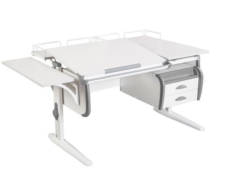 Купить Парта Дэми СУТ-25-05 White Double в интернет магазине. Цены, характеристики, фото, отзывы, обзоры