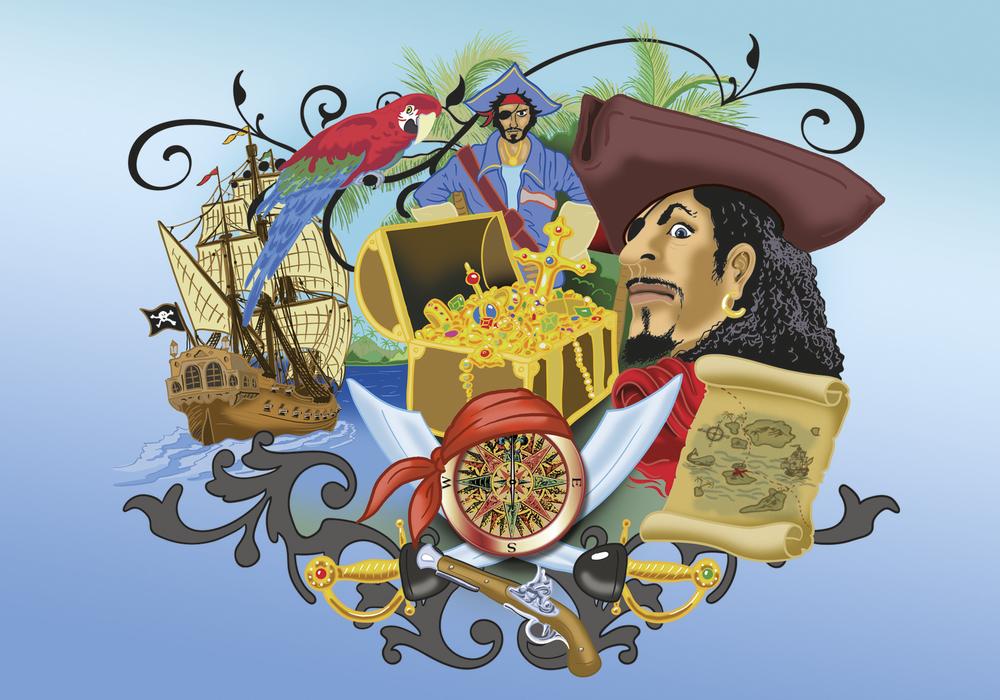 """Купить Накладка на стол Moll """"Пират"""" в интернет магазине. Цены, характеристики, фото, отзывы, обзоры"""