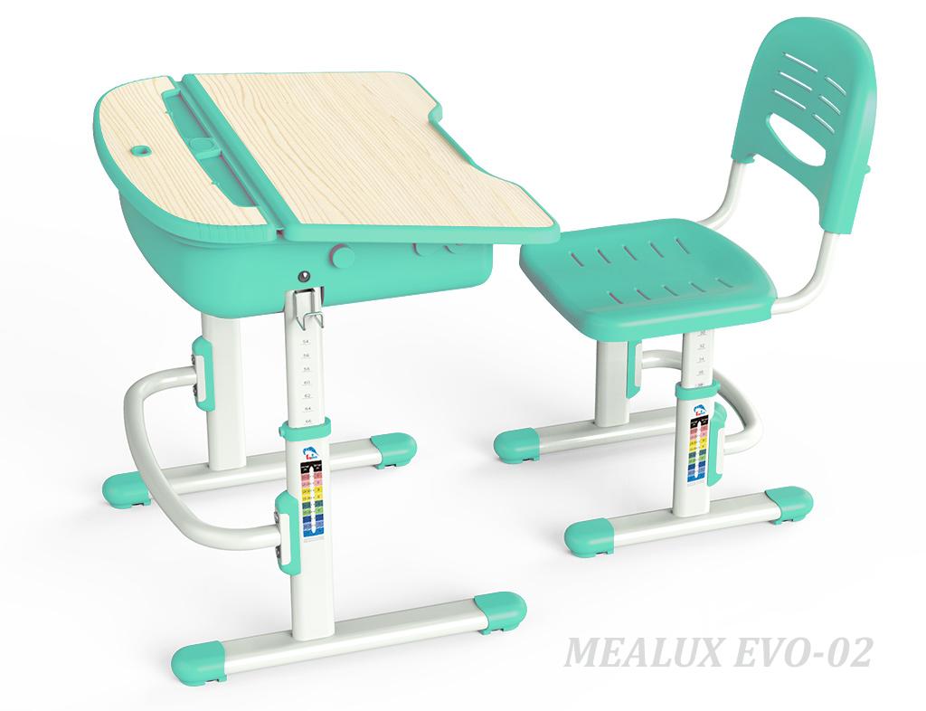 Купить Комплект парта и стул Mealux EVO-02 в интернет магазине. Цены, характеристики, фото, отзывы, обзоры