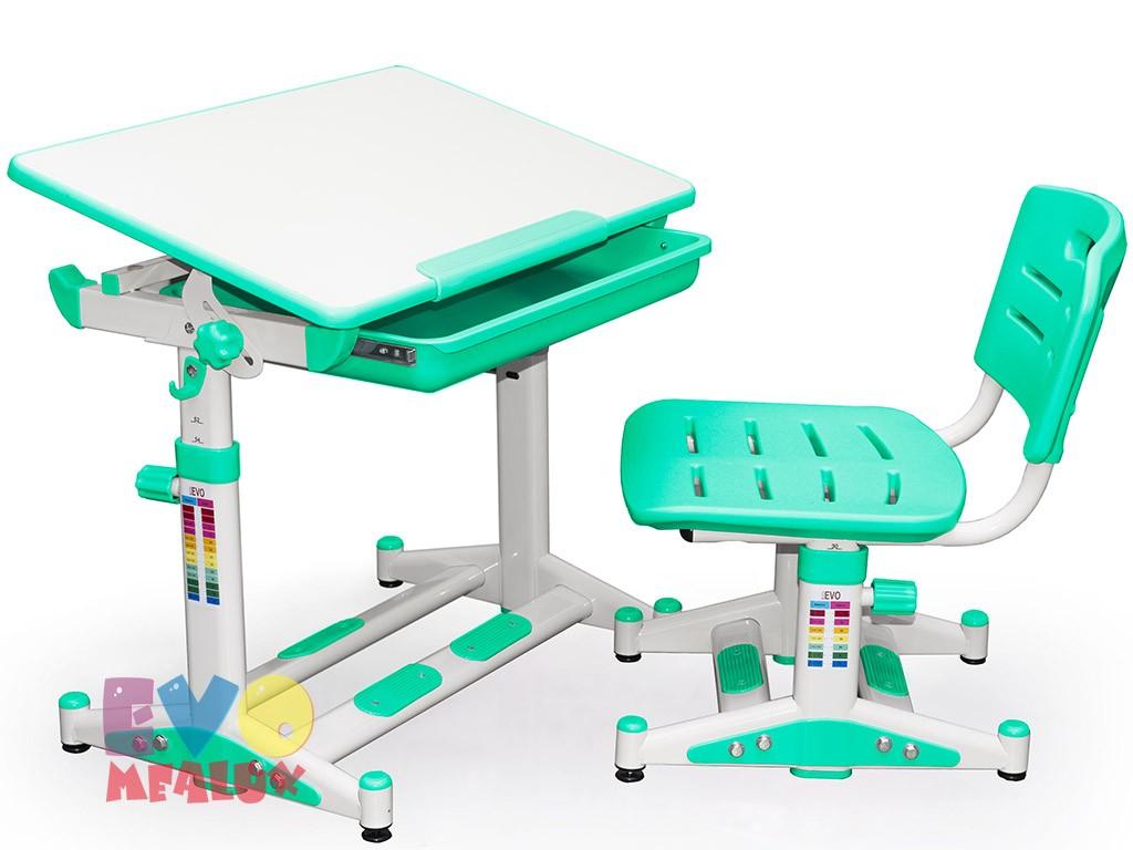 Купить Комплект парта и стул Mealux EVO-06 New в интернет магазине. Цены, характеристики, фото, отзывы, обзоры