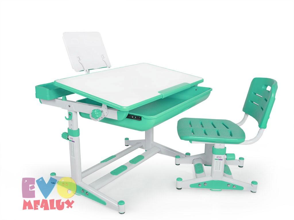 Купить Комплект парта и стул Mealux EVO-04 New XL в интернет магазине. Цены, характеристики, фото, отзывы, обзоры